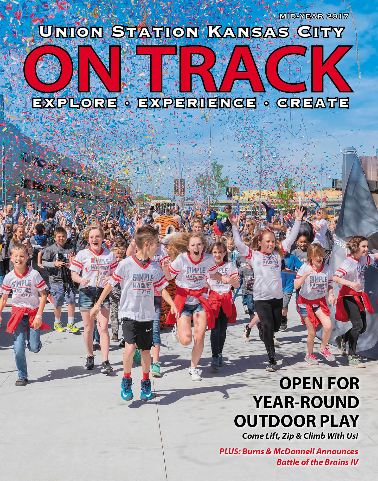 On Track Magazine - Simple Machines at Play
