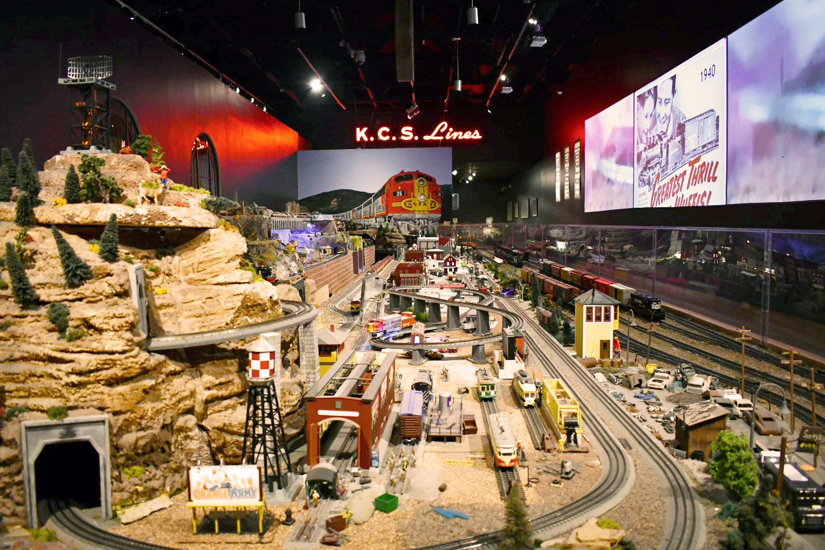 Photo of the Model Train Gallery